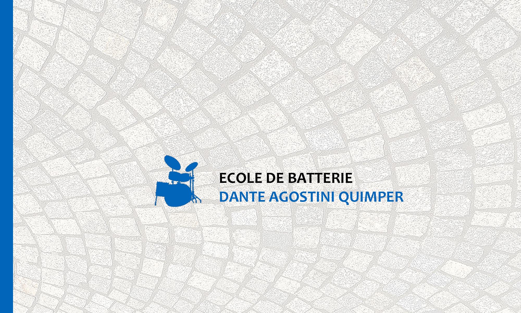 École et cours de batterie Dante Agostini Quimper